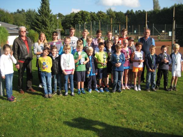 Jugendclubmeister 2015 des TC GW Rotenburg