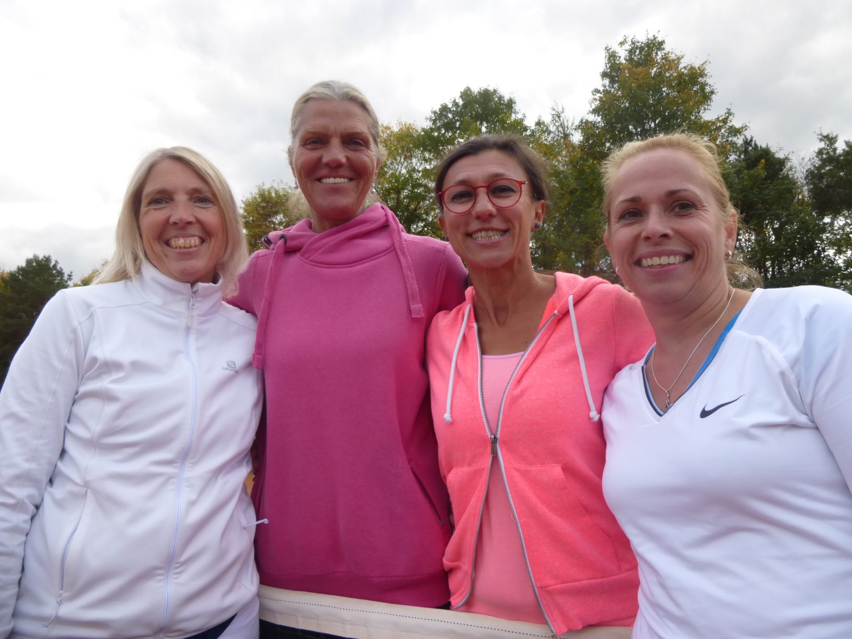 © TCR / Endspiel Damen I: Kerstin Grube-Meyer, Anne Ulrich, Laura Zegenhagen, Claudia Harth